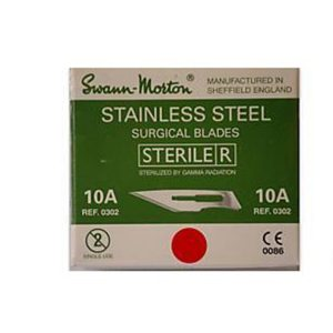 Swann Morton Stainless Blades