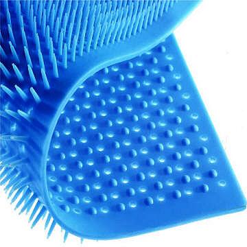 Fancy Color Rubber Pin Mat Single Design, रबर पिन मैट